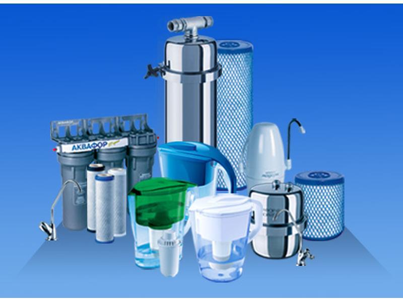 Классификация бытовых систем очистки воды