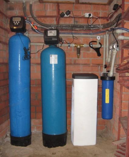 Фильтр для очистки воды для скважины своими